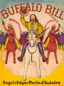 Buffalo Bill cover by Ingri & Edgar Parin d-Aulaire