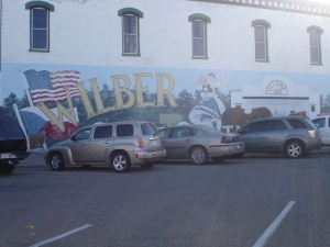 Wilber mural