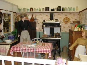 Wilber Museum room