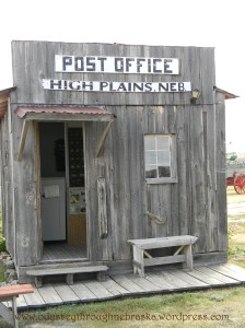 Color High Plains Post Office