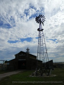 Color High Plains Windmill
