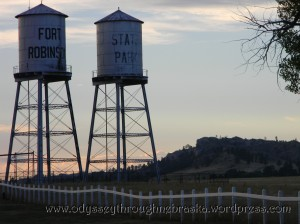 Fort Robinson towers