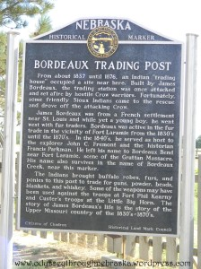 Fur Trade Trading Post sign