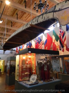hanging canoe