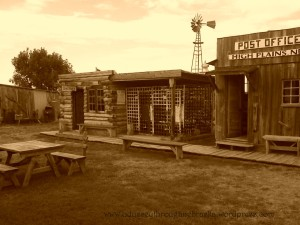High Plains Post Office and sherriff