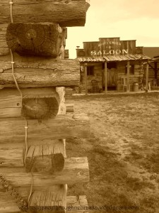 High Plains saloon