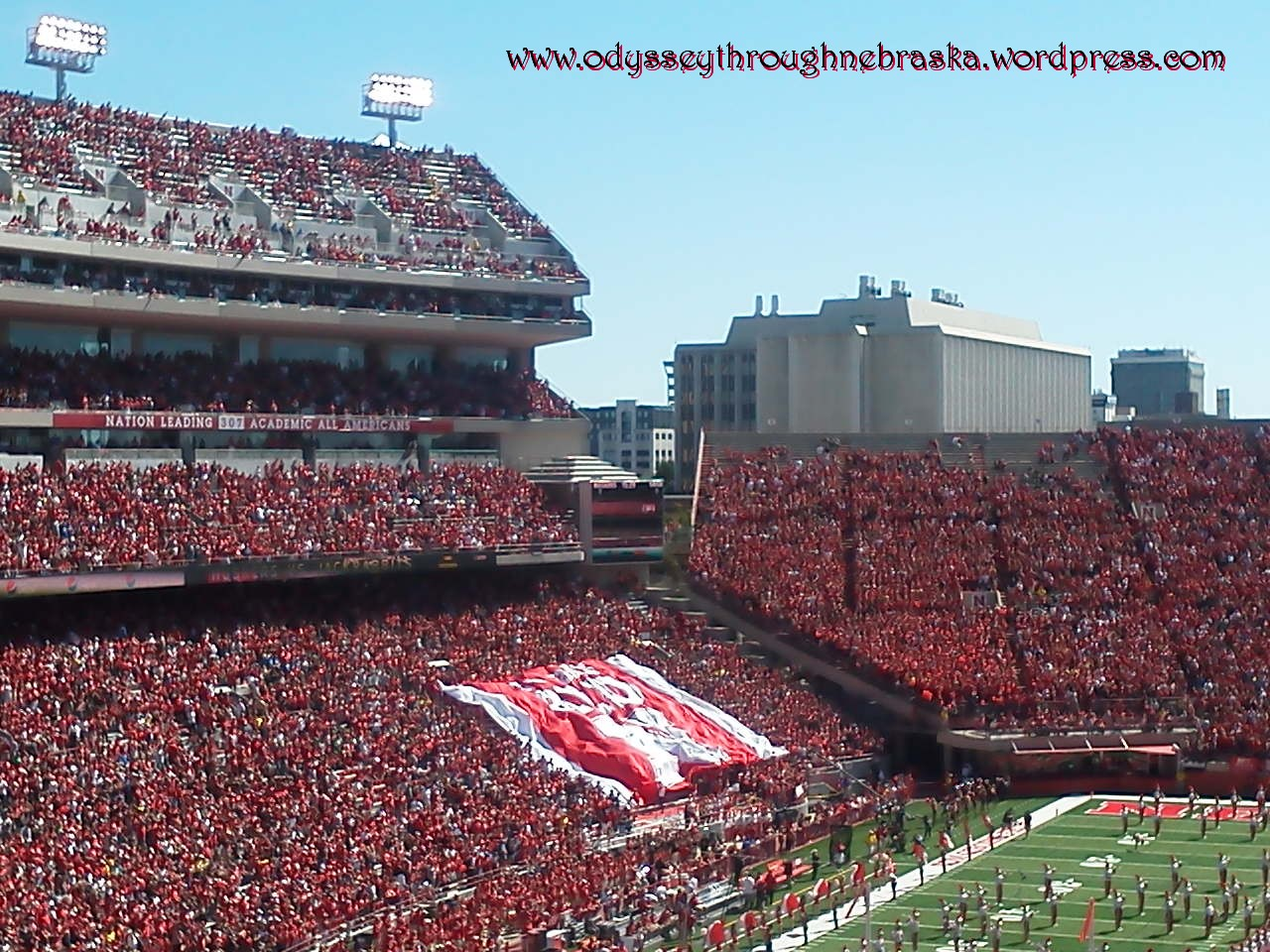 Sentimental Stadium: Sensational Husker Hype   Odyssey ...