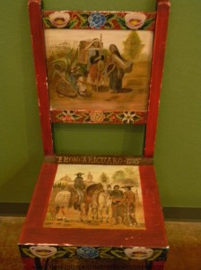 Native American chair