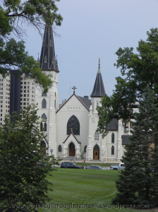 St. Mary's Catholic Church in downtown Lincoln