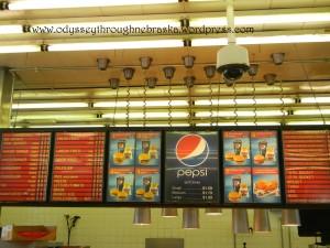 Broncos menu