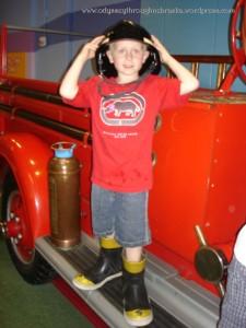 G is a fireman