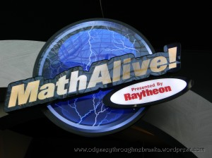 Math Alive display