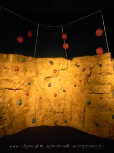 Math Alive rock wall