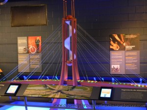 Math Alive suspension bridge