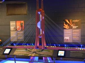 Math Alive suspension bridge