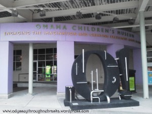 Omaha Children's Museum entrance
