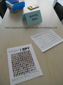 Quilt Activity Center