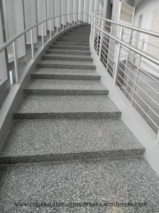 Quilt stairs