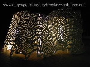 Quilts Lighted Sculpture