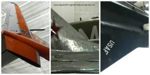 SAS glimpses of planes