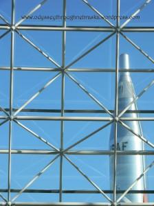 SAS interior rocket view