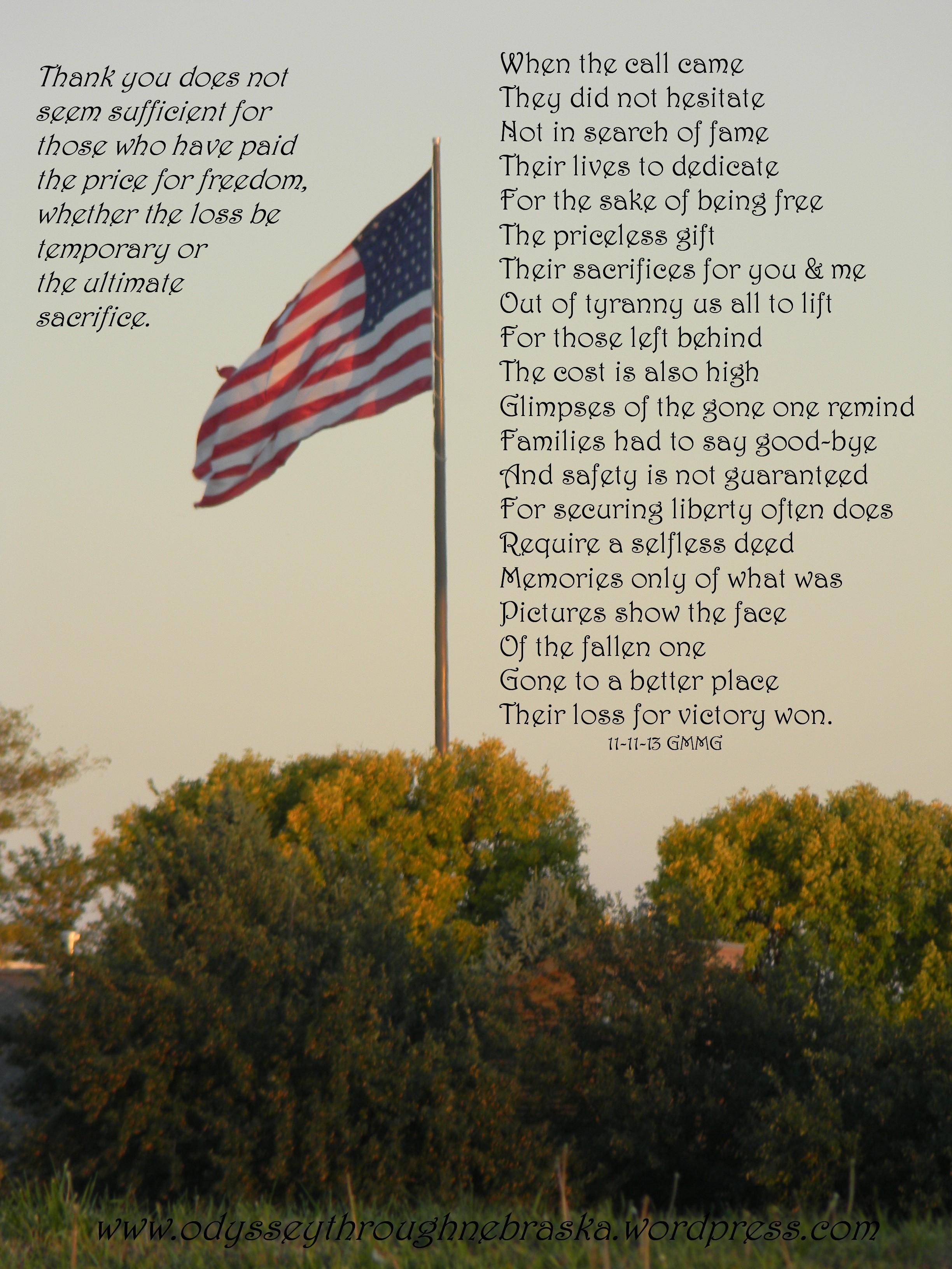 Memorial day poems veterans poems prayers - 11 11 Veteran S Day Poem