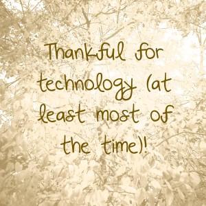 4 being thankful