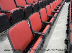 Arena seats