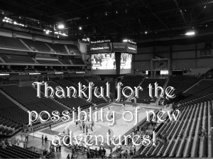 Arena thankful
