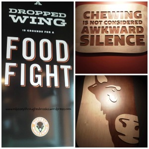 Buffalo Wings and Rings Signs