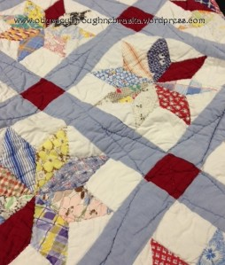 Grandma star quilt