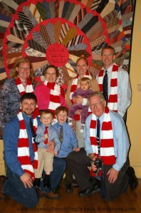 Holen Quilt with Michels family
