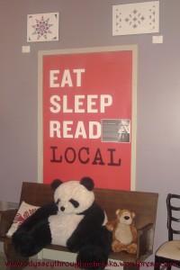 Indigo Bridge Books Local Sign
