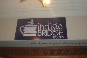 Indigo Bridge Books Sign