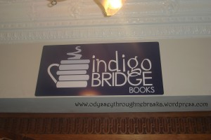 Indigo Bridge Books Sign