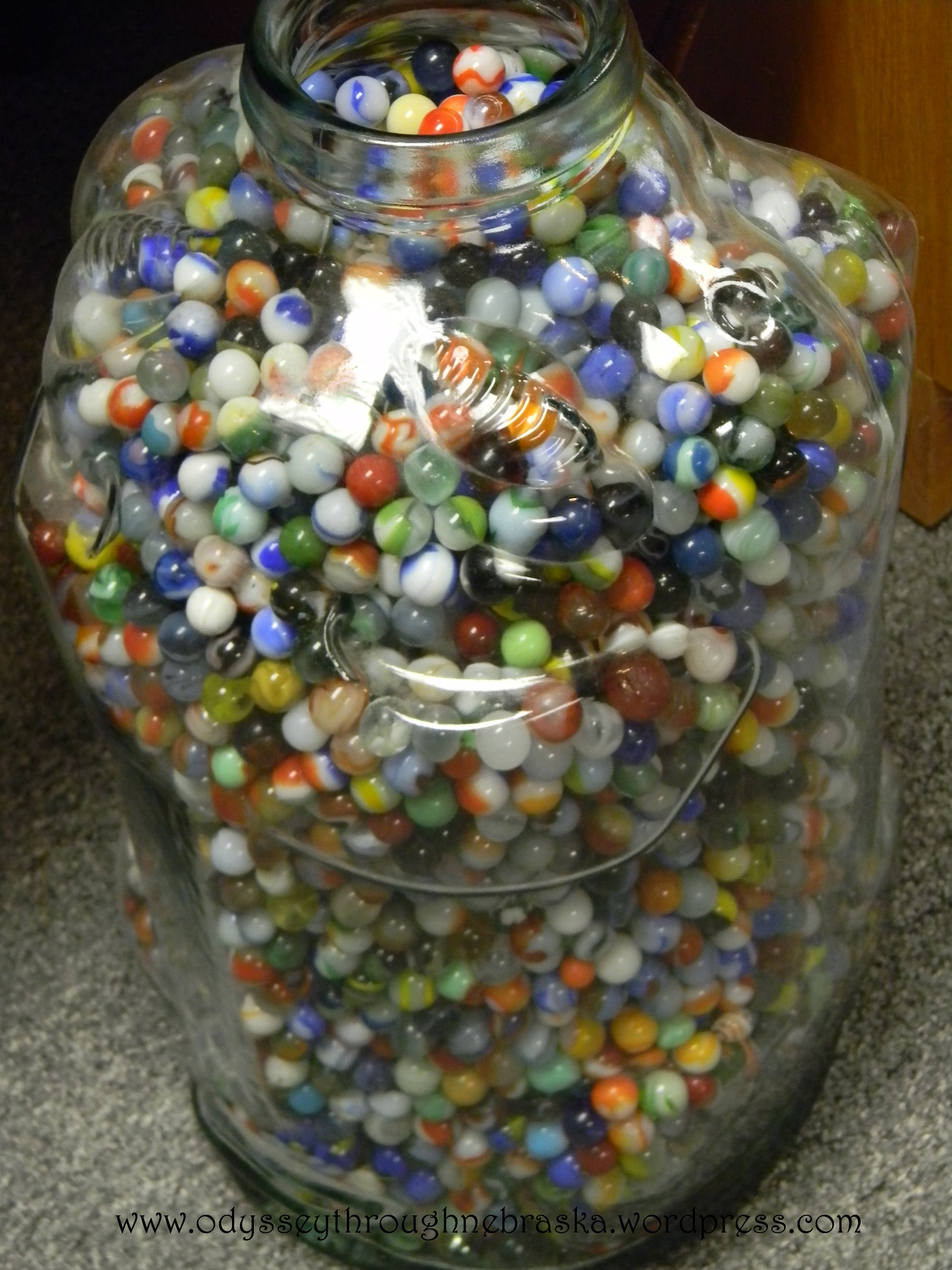 Jar Of Marbles Story : Thankful i found my marbles nebraska s one and only