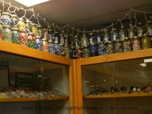 @ Lee's Marbles glass jars