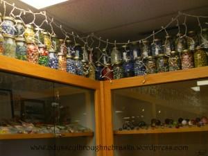 @ Lee's Marbles glass jars
