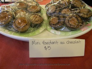 Normandy fondant au chocolat