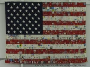 SAS flag quilt