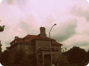 Ferguson House Antiqued