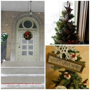 Ferguson House Christmas Collage