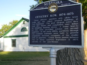 Fort Robinson Officer's Row