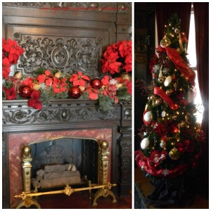 Joslyn Dining Room Fireplace and Tree