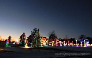 Nebraska Christmas lights 2