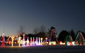 Nebraska Christmas lights