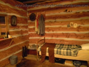 Cowboy Exhibit bunkhouse room