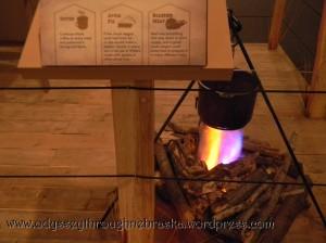 Cowboy Exhibit Campfire