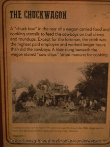 Cowboy Exhibit Chuckwagon Explanation2