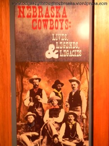 Cowboy Exhibit Display Sign